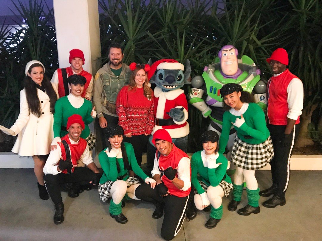 A Totally Tomorrowland Christmas Cast