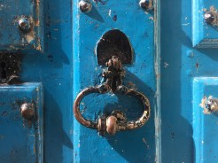 Simple knocker with nice colour