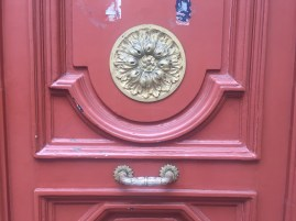 Intricate knobs and knockers here.