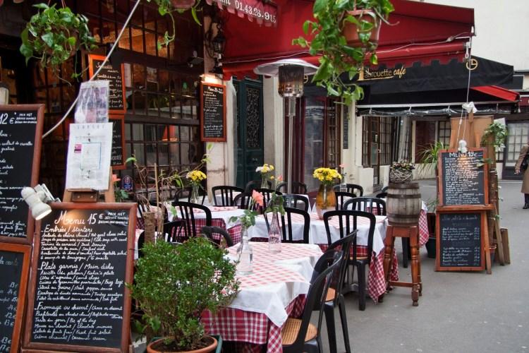 Paris Restaurant. Gas Burner. Outdoor dining. Testbed Vegas.