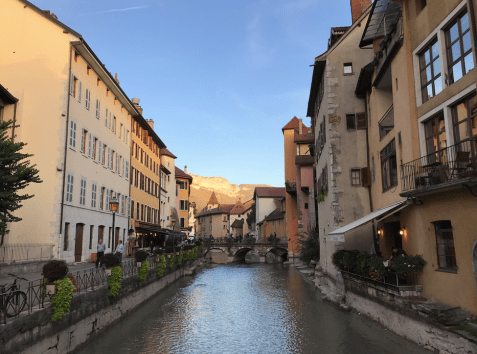 "They call Annecy ""The Venice of France"" and I think you can see why."