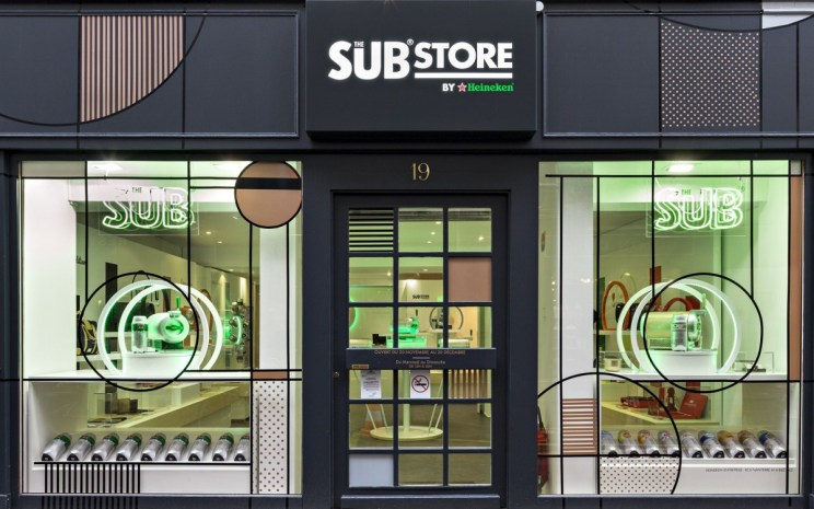 Pop-up Store Heineken Sub Store
