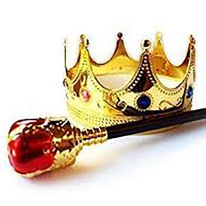 crown and sceptre
