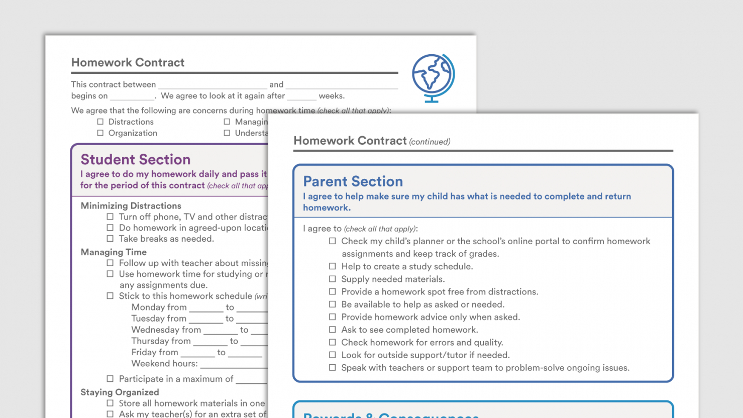 This Is The Sample Homework Contracts Downloadable