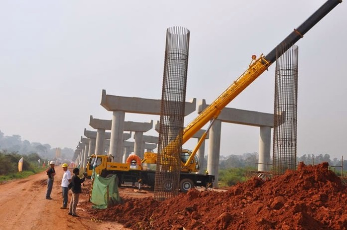 2nd Niger Bridge under construction