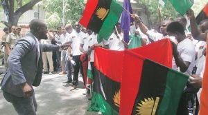 Pro-Biafra demonstration in India