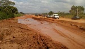 Bad state of Enugu-Onitsha Expressway
