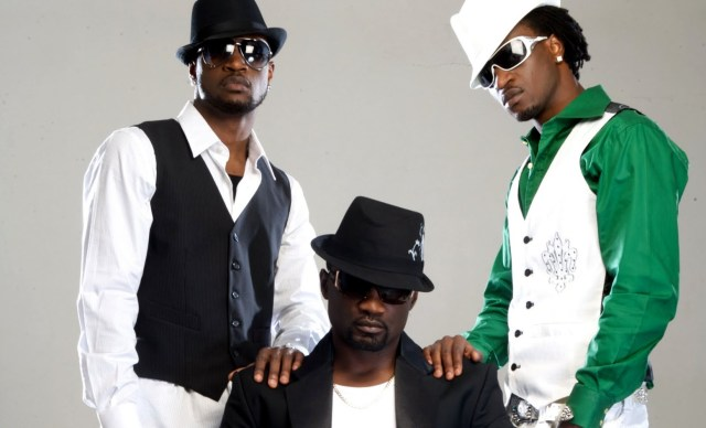P-Square and Jude Okoye
