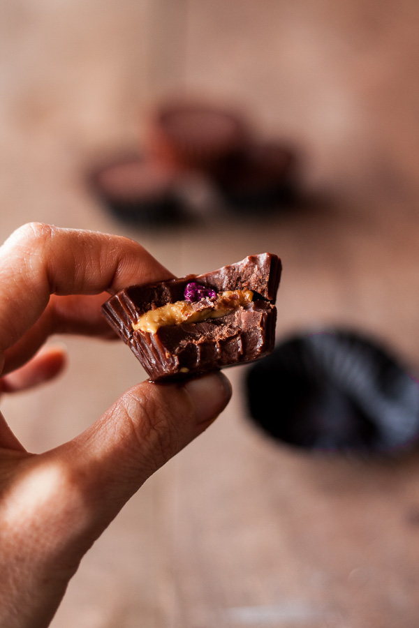 Chocolate Peanutbutter Jelly Cups