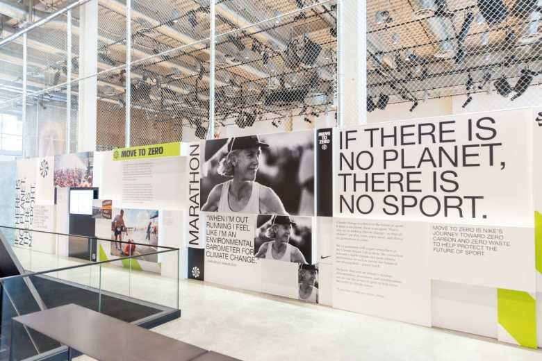 Nike Sustainability Move to Zero Campaign Launch No Planet No Sport