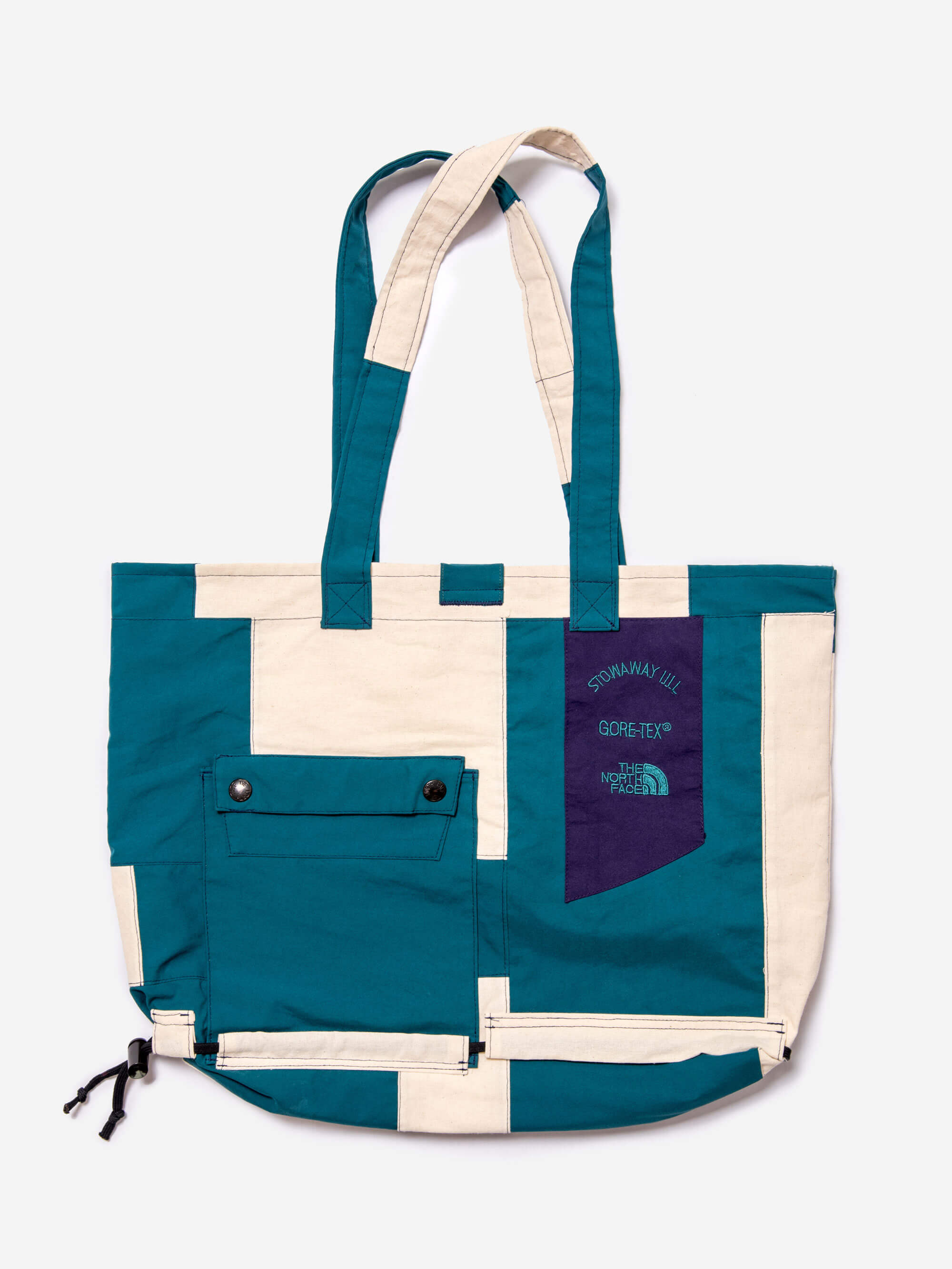 Greater-Goods-Fashion-Upcycling-North-Face-Bag-Teal