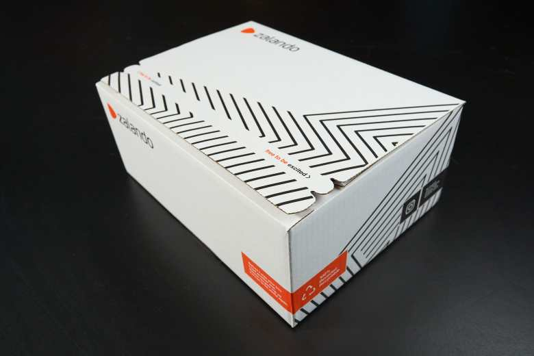Zalando Sustainable eCommerce Packaging Box