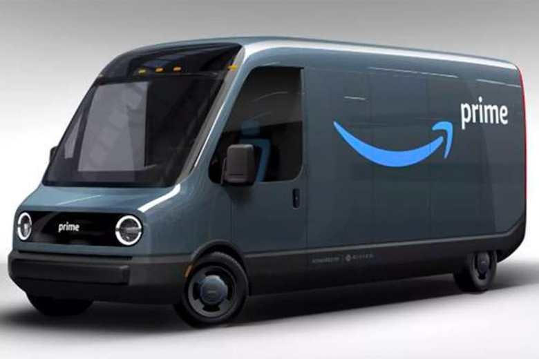 Amazon Electric Vehicle- Delivery Van