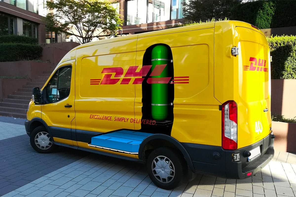 DHL Electric Vehicle with Fuel Cell
