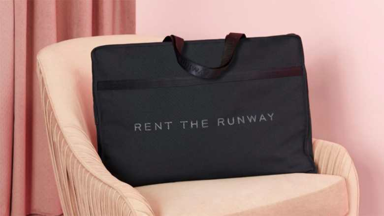 Rent the Runway Fashion Rental returns carrier