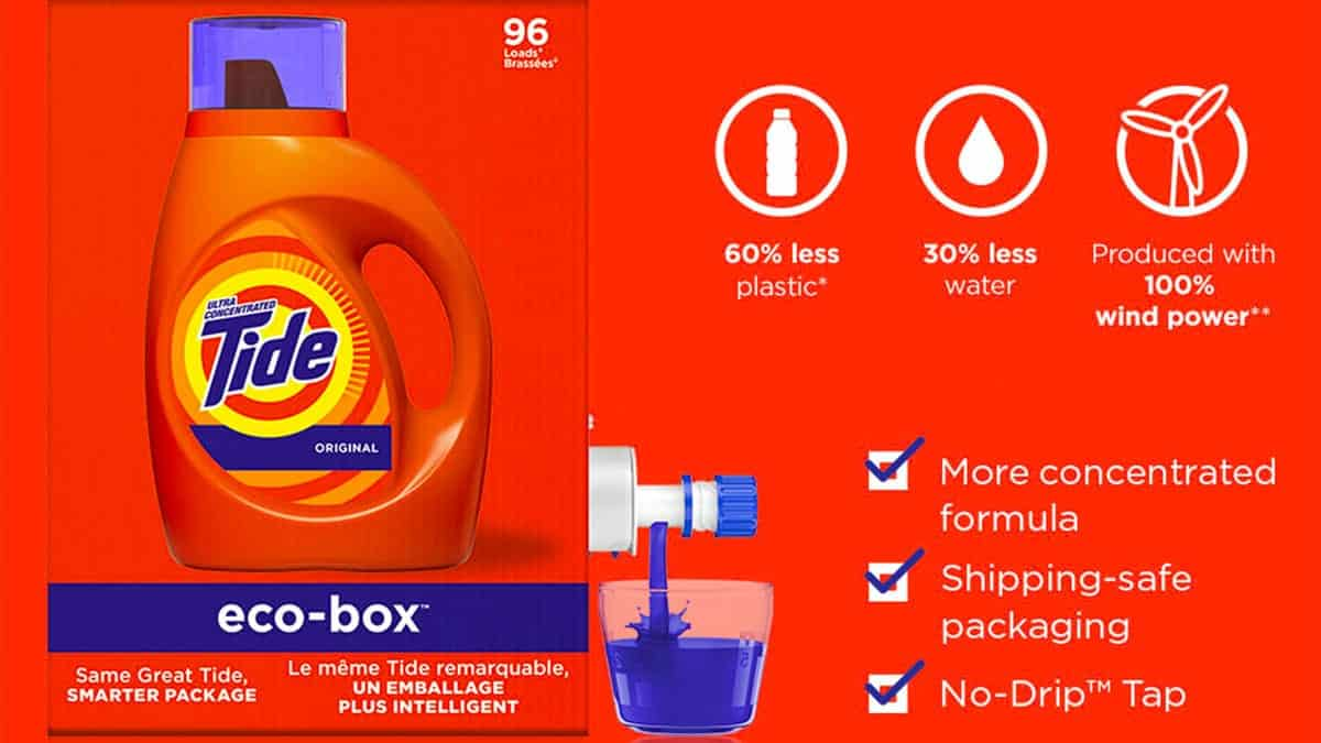 Tide Eco-Box- Sustainable eCommerce Packaging