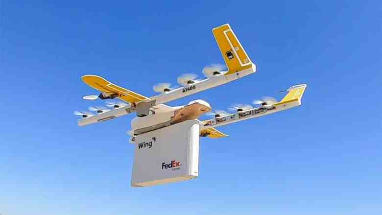 Fedex Automated Delivery Drones
