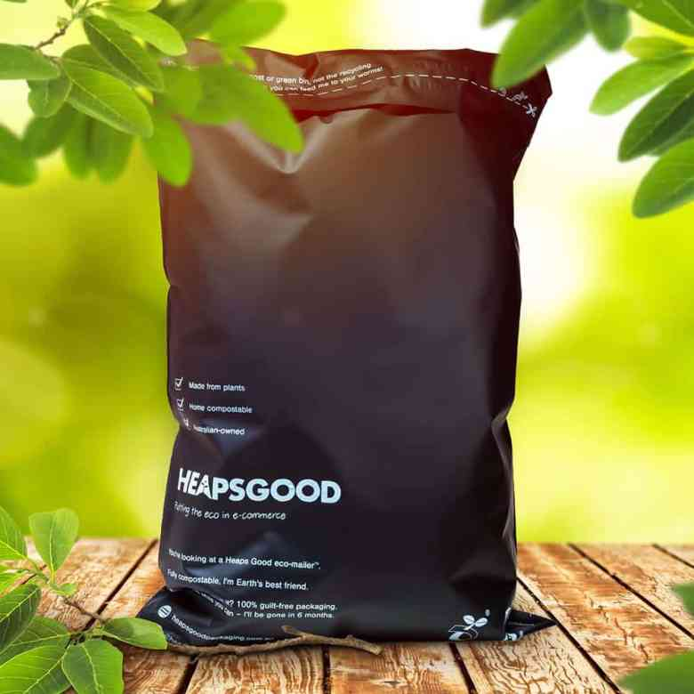 HeapsGood Sustainable Packaging Compostable eCommerce Mailer