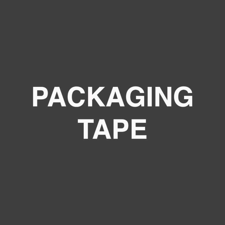 Packaging Tape Text Ecobahn