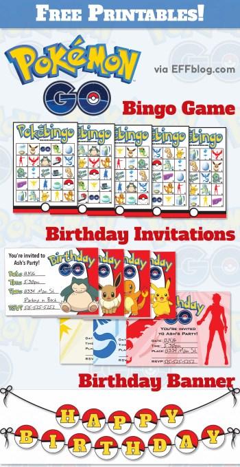 Pokémon Gopocalypse { a.k.a. a Slew of Free Pokemon Go Printables! }