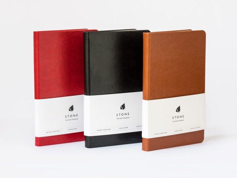 Stone Journal three journals