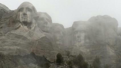Mt. Rushmore Crying