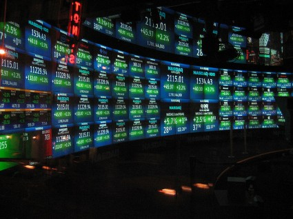 NASDAQ MarketSite TV studio - Photo by Luis Villa del Campo