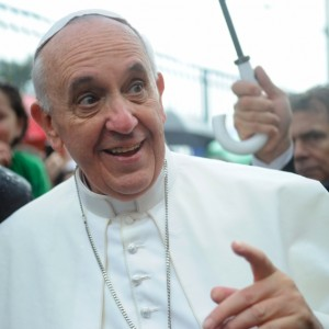 Pope Francis - Photo by Tania Rego