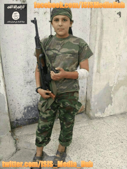 13 Year Old Jihadist - ISIS Media Hub