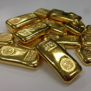 Gold Bars - Public Domain