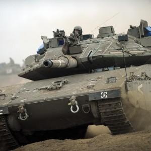 El tanque israelí - Fuerzas de Defensa de Israel