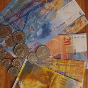 Swiss Francs - Public Domain