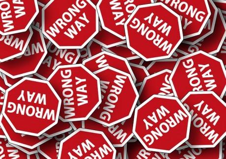 Wrong Way - Public Domain