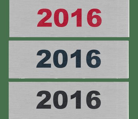 2016 Sign - Public Domain