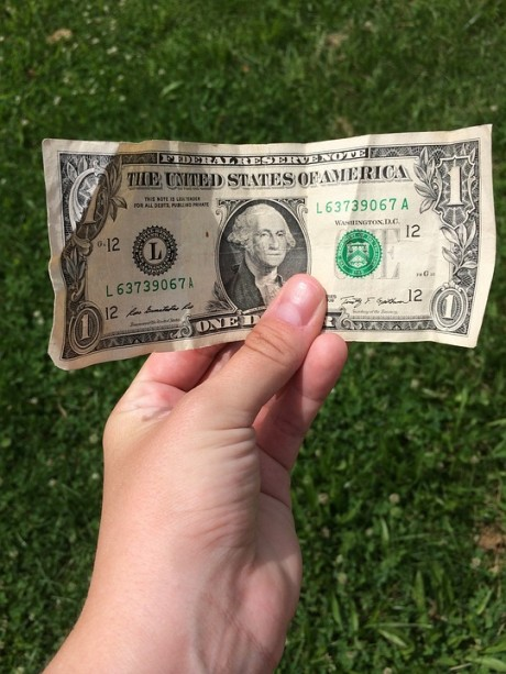 One Dollar Bill - Public Domain