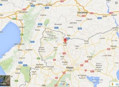 Turkey Syria Border - Google Maps