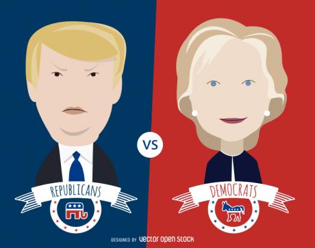 donald-trump-hillary-clinton-debate-photo-by-vectoropenstock