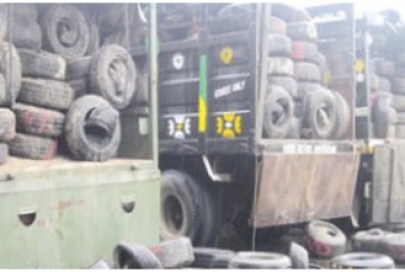 Customs seize fake tyres worth N20m