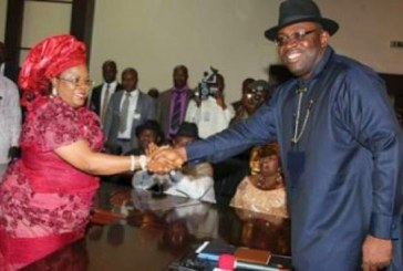 Patience Jonathan reconciles with Bayelsa Governor