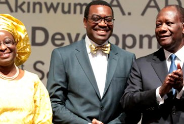 Adesina takes over as AfDB President, promises to focus on power
