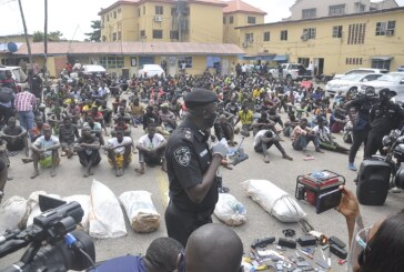 Suspected traffic robbers and Indian hemp dealers arrested by the Lagos Police Command