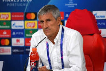 Barcelona sack Coach Setién