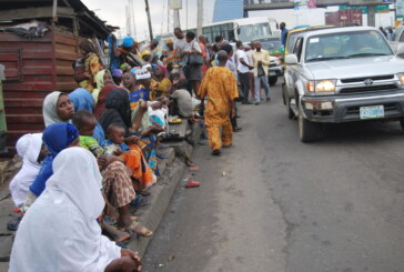 Begging for alms on the rise in Lagos