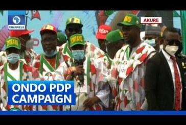 Makinde, Tambuwal Show Up As PDP Kicks Off Governorship Campaign In Ondo