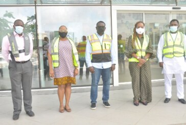 Inauguration of Waterways COVID-19 Safety Marshal in Lagos..
