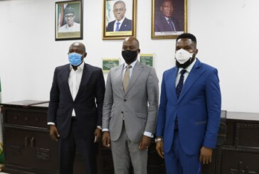 After a courtesy visit to the management of the Bank in Lagos