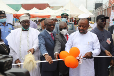 Commissioning and unveiling of the new SIFAX Container Terminal, Ijora Causeway, Lagos