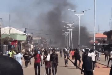 BREAKING: Armed Thugs Attack Terminus In Jos, Destroy Businesses, Properties