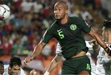 Troost-Ekong, Kalu out of Nigeria-Tunisia tie
