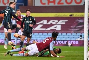 Leeds United beat Aston Villa
